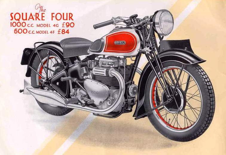 Brochure Showing The New 1000cc Sq4 1939 Diagram Of The Sq4 Engine